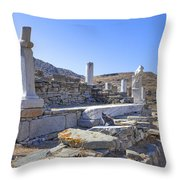 Delos Throw Pillow