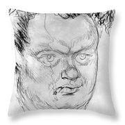 Dylan Thomas (1914-1953) Throw Pillow