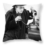 Film Still: Telephones Throw Pillow