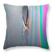 Flow Testing Air Foil Throw Pillow