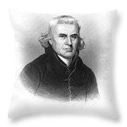 Francis Asbury (1745-1816) Throw Pillow
