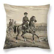 Franz Sigel (1824-1902) Throw Pillow