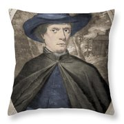 Fr�re Jacques Beaulieu, French Throw Pillow