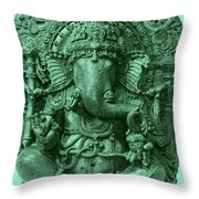 Ganesha, Hindu God Throw Pillow