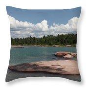 Georgian Bay, Canada Throw Pillow