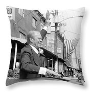 Gerald Ford (1913-2006) Throw Pillow