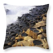 Giants Causeway, Co Antrim, Ireland Throw Pillow