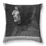 Girolamo Savonarola Throw Pillow