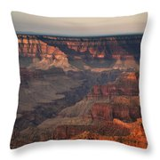 Grand Canyon Sunrise Throw Pillow