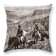 Grand Canyon: Sightseers Throw Pillow