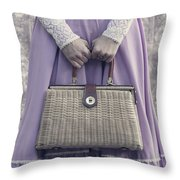 Handbag Throw Pillow by Joana Kruse