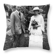 Harry S. Truman (1884-1972) Throw Pillow