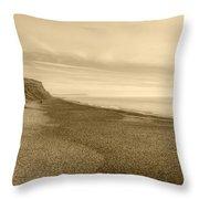 Hengistbury Head Throw Pillow