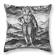 Henry IIi (1551-1589) Throw Pillow
