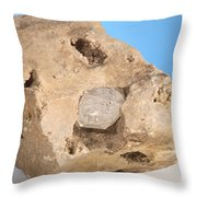 Herkimer Diamond Throw Pillow