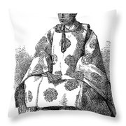 Hitotsubashi (1837-1913) Throw Pillow