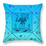 Horoscope Types, Engel, 1488 Throw Pillow