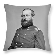James A. Garfield (1831-1881) Throw Pillow