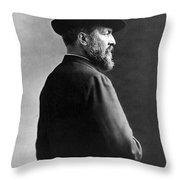 James A. Garfield, 20th American Throw Pillow