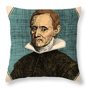 Jan Baptist Van Helmont, Flemish Throw Pillow