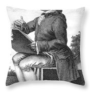 Jean Le Rond D Alembert Throw Pillow