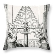 Johannes Hevelius, Polish Astronomer Throw Pillow