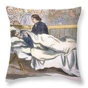 John Brown (1800-1859) Throw Pillow by Granger