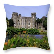 Johnstown Castle, Co Wexford, Ireland Throw Pillow