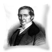 Joseph Gay-lussac, French Chemist Throw Pillow