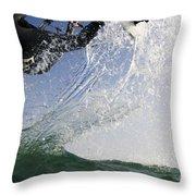 Kitesurfing Board Throw Pillow