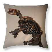 La Brea Tar Pits Throw Pillow