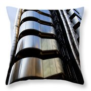 Lloyds Building Central London  Throw Pillow