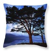 Lough Leane, Lakes Of Killarney Throw Pillow