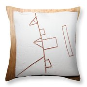 Love - Tile Throw Pillow