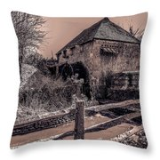 Lurgashall Mill Throw Pillow