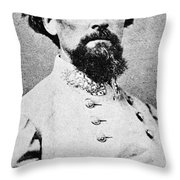 Nathan Bedford Forrest Throw Pillow
