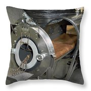 Negative Pressure Ventilator, Iron Lung Throw Pillow