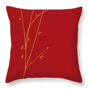 Omega Particle, 3rd Observation Throw Pillow