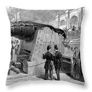 Paris: Exposition Of 1867 Throw Pillow