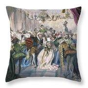 Perrault: Cinderella, 1867 Throw Pillow