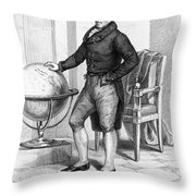 Pierre Laplace (1749-1827) Throw Pillow