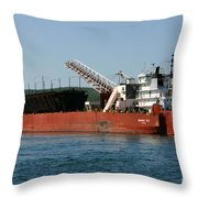 Presque Isle Ship Throw Pillow