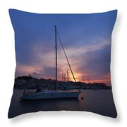 Primosten Throw Pillow