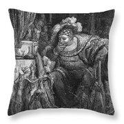 Rabelais: Pantagruel Throw Pillow