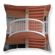 3 Rails Throw Pillow