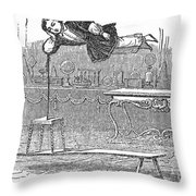 Robert Houdin (1805-1871) Throw Pillow