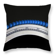 Rolling Energy Throw Pillow