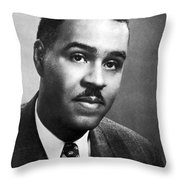 Roy Wilkins (1901-1981) Throw Pillow