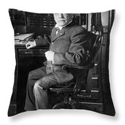 Samuel Gompers (1850-1924) Throw Pillow