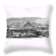 San Francisco, 1850 Throw Pillow